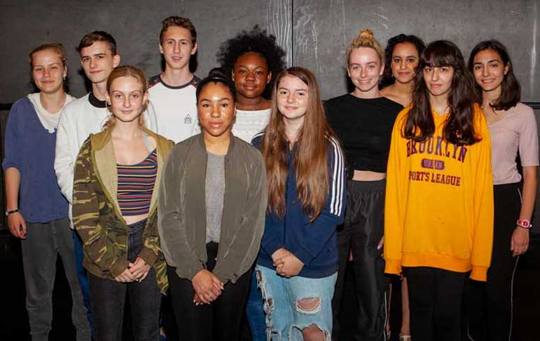 CSU RADA drama course group